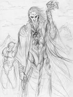 Urza planeswalker prev. sketch by shinjistrikes