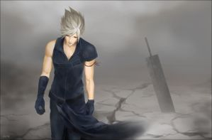 Cloud Strife by dune-art