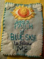 blue sky patch by spaceradish