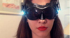 TDKR: Catwoman inspired goggles by Romantically-Geeky