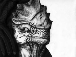 Urdnot Wrex by SaucyCracker