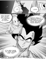Dbz: Bulma and Vegeta - Firstkiss: Chapter 3, Pg16 by longlovevegeta