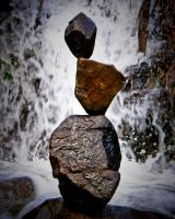 Stone Sentry. Waterdance by sculptin