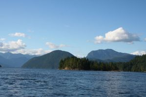 Princess Louisa Inlet Stock 3 by SimplyBackgrounds