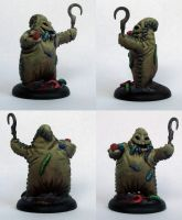 Oogie Boogie sculpture by DaOldHorse