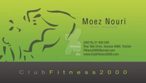 Fitness 2000 Carte Visite 1 by Fnayou