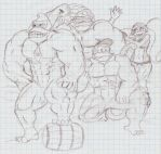 Nintendo 3 - The DK Crew by spike4646