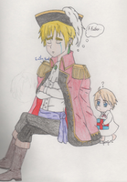 APH - Father's Day Lament by SwiftNinja91