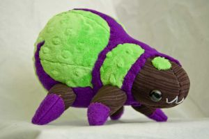 Mr. Doomsfield (baneling inspired) plush by boro-official