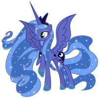 Princess Luna by Sunley