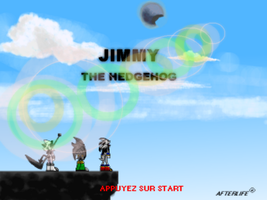 Jimmy The Hedgehog the game by drakughost