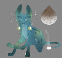 Alien Cat Baby by TickTockTheBoomBunny