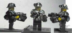 Aliens Space Marine with tracker by ARMORMAN