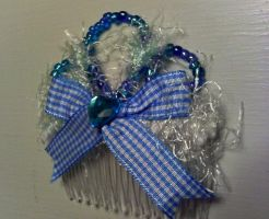 Country Princess Gingham Comb by GothicDorothy