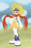 rikku paint tool sai 2 by twinlightownz