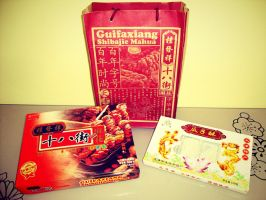 Gifts from Tianjin by Laura-in-china