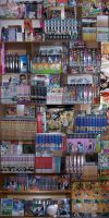 Manga Collection March 2011 by Naime8