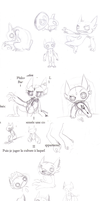 .: Sableye's development :. by JLise