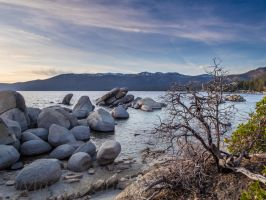 Sand Harbor140415-9 by MartinGollery