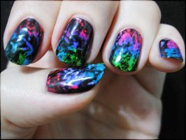 Rainbow Grunge by Alchemical