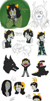 Homestuck Dump 1 by MelvisMD
