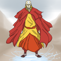 Avatar Aang by cyril002