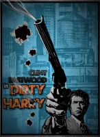 Dirty Harry Poster by Robrkid