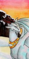Opal Dragon Bookmark by hollyann