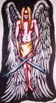 Angel with Swords by MissCaz