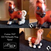 Custom MLP Epona from The Legend of Zelda by StrawberrySoulReaper