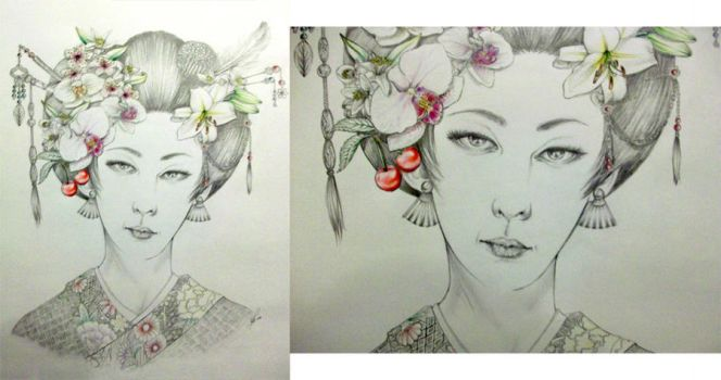 Spring Geisha by Socialdbum