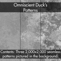 Grey Grunge Patterns by Omniscient-Duck