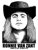 DSS No. 37 - Ronnie Van Zant by gothicathedral