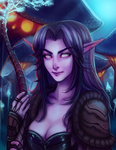 Night Elf by Mynxuu