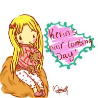Ima n Kevin, Grooming day by Ria-tan
