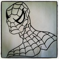 Sketch 20: Spider-man by pascalscribbles