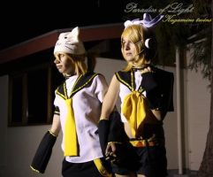 Rin and Len ''Paradise Light'' by x--Cupcake