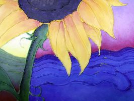Sunflower detail by NittyGritty71