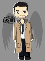 Castiel - Chibi-Style- [Supernatural] by lotras