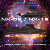 NX-02 NX-12 for DAZ 4.7 by TrekkieGal