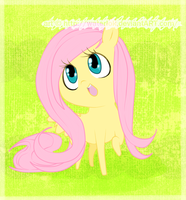 MLP.FIM-Fluttershy Hello by waterbits