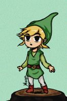 Toon Link Minish Cap by Waylove94