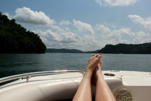 Boating in Tennessee 4 by RiaBunnie