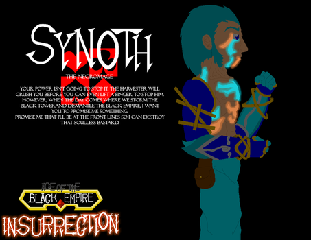Insurrection Promotion - Synoth by speedmanic