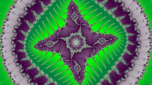 Worm Study2 star Green by FractalMonster
