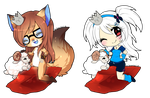 :YCH: In the sign of chibi Aries by Desiree-U