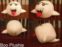 Boo Plush Toy by TombRaiderKuchen