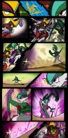 Gallade VS Bisharp by SaintsSister47