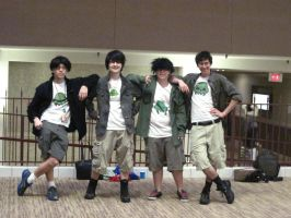 Jake English Cosplays at Anime Detour 2012 by Tien13