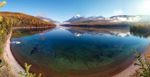Bowman Lake by NickSpiker
